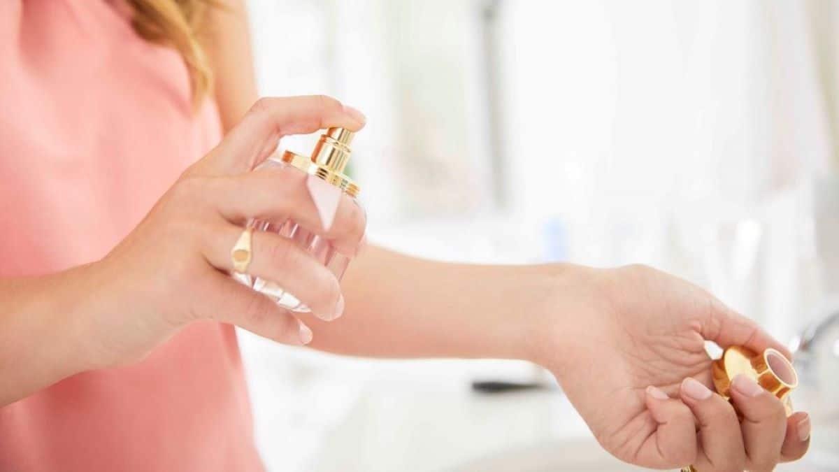Perfume na sua pele